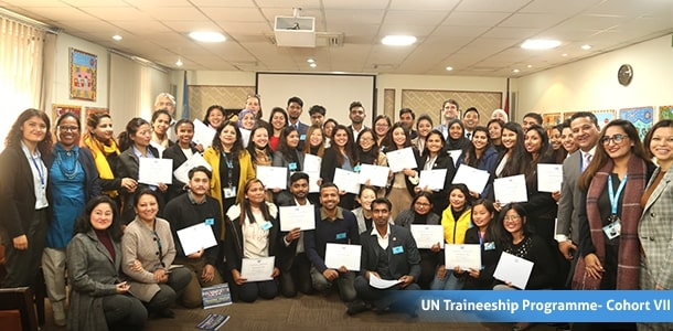 43 Trainees Graduated from UN Traineeship Programme - Cohort VII
