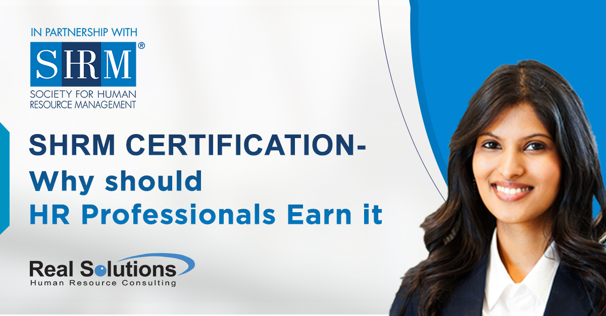 SHRM Certification - Why should HR Professionals Earn it