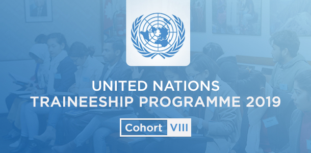 UN Traineeship Programme Cohort VIII: Call for Application!